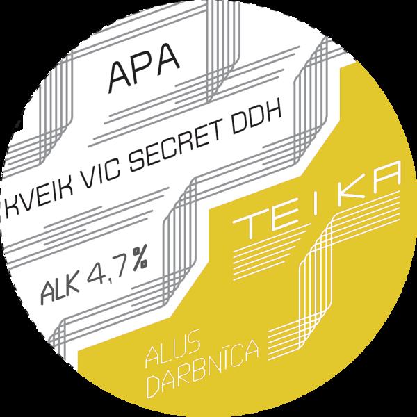 JAUNUMS! Kveik Vic Secret DDH APA 4.7%